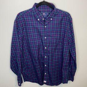 Vineyard Vine Classic Fit Murray Plaid Shirt